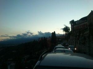 Etna, viewed from Taormina