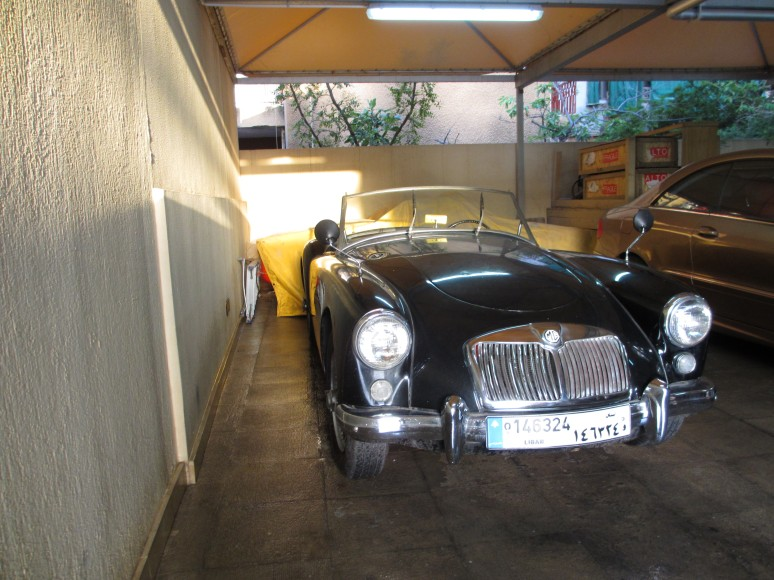 1959 MGA, another jewel waiting in the back.